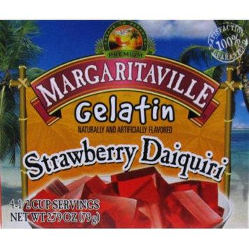 Jel Sert MARGARITAVILLE 2.79OZ GELATIN - STRAWBERRY DAIQUIRI
