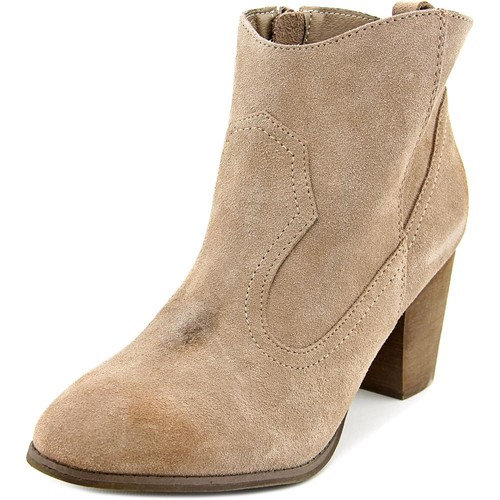 Restricted Nitro Women Round Toe Leather Bootie