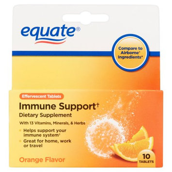 Equate Immune Support Dietary Supplement Tablets, 10 count