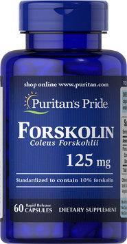 Puritan's Pride Forskolin Coleus Forskohlii 125 mg-60 Capsules