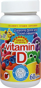 Teelah Corporation Yum-V's Vitamin D -60 Jellies Chewables