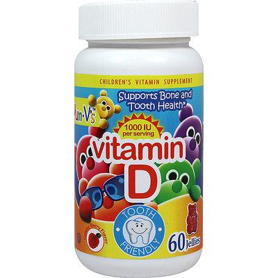 Teelah Corporation Yum-V's Vitamin D -60 Jellies Chewables
