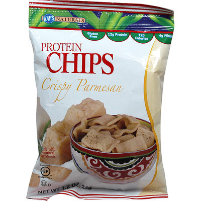 Kay's Naturals Crispy Parmesan Protein Chips-6 per Box