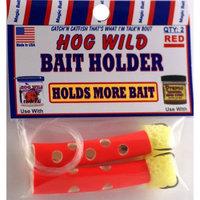 Magic Bait Co. Inc. Hog Wild Tube Worm Bait Holder, Red
