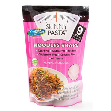 Skinny Pasta 9.52 oz - The Only Odor Free 100% Konjac Noodle (Shirataki Noodles) - Pasta Weight loss - Low Calorie Food - Healthy Diet Pasta - Noodles - 24-Pack