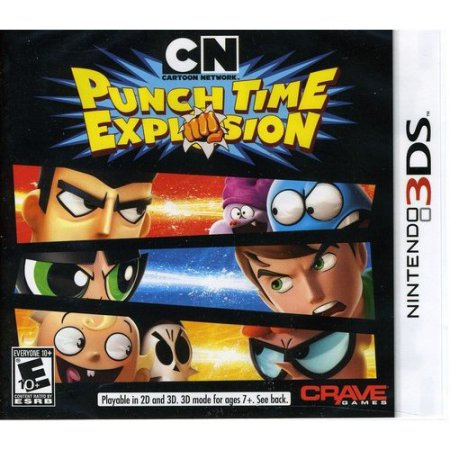 Svg Distribution Cartoon Network: Punch Time Explosion - Pre-Played