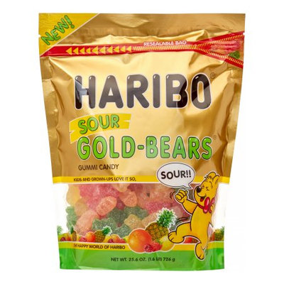 Haribo Sour Gold Bears 1.6 LB Bag