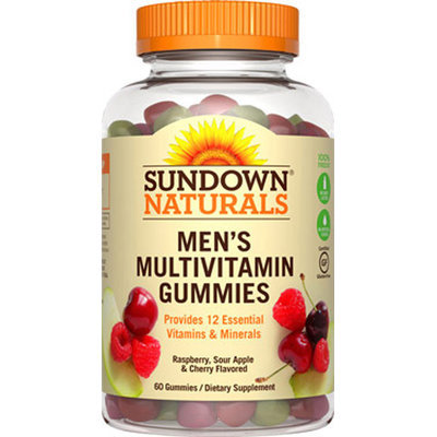 Sundown Naturals Men's Multivitamin Gummies-60 Gummies