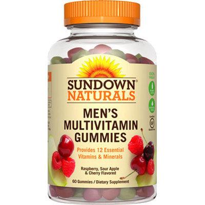 Sundown Naturals Men's Multivitamin Gummies-60 Gummies