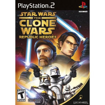 Lucas Arts Star Wars The Clone Wars Republic Heroes (ps2luc33835)