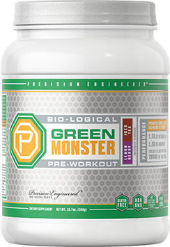 Precision Engineered Bio-logical Bio-logical Green Monster Pre-Workout Lemon Berry Iced Tea