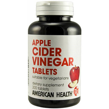 American Health Apple Cider Vinegar, 200 CT