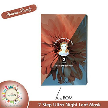A by Bom Ultra Night Leaf Mask (5pcs) 2 step flower mask pack