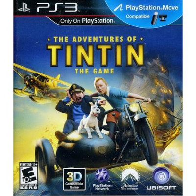 UBI Soft Adventures of Tintin: The Game - Move Compatible