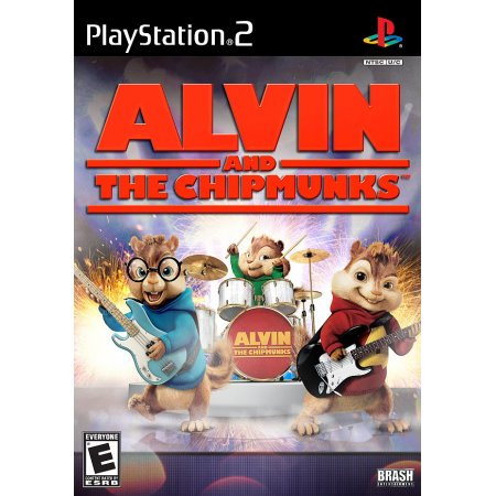Brash Entertainment Brash 890181002005 Alvin And The Chipmunks for PlayStation 2
