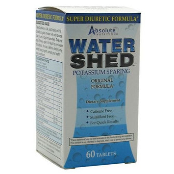 Absolute Nutrition WaterShed -- 60 Tablets