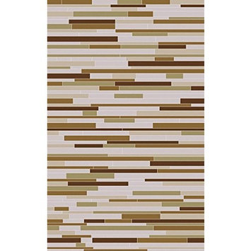 Surya Houseman HSM-4020 Hand Crafted Hair on Hide Hides and Leather Area Rug, 5-Feet by 8-Feet