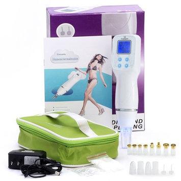 Aibote New 12 Tips Facial Care Beauty Device Skin Diamond Dermabrasion Scar Blackhead Removal Acne Pore Peeling Machine Massage Microdermabrasion