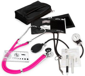 Prestige Medical Aneroid Sphygmomanometer / Sprague-rappaport Nurse Kit Neon Pink