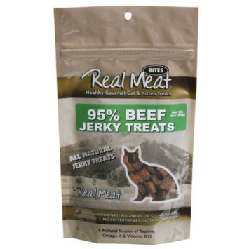 Real Meat Company 80028 3oz Beef Treats for Cats