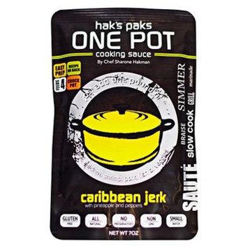 Haks Paks One Pot Cooking Sauce Caribbean Jerk Sauce - 7oz