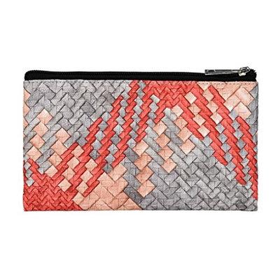 Kimanli Women Rhombus Pattern Bag Travel Cosmetic Bag Makeup Case Pouch Toiletry Best