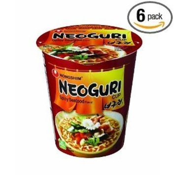 NongShim Neoguri Noodle, Spicy Seafood, 2.18 Ounce (Pack of 6)