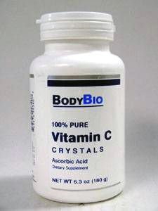 C Crystals 180 gms by BodyBio/E-Lyte