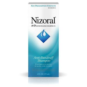 Nizoral A-D Anti-Dandruff Shampoo with Ketoconazole 1%, Dry Itchy Scalp Shampoo for Dandruff Control & Relief, 4 fl. oz