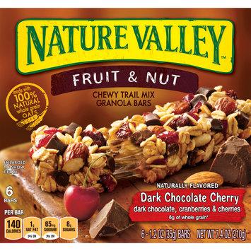 Nature Valley Granola Bars  Chewy Trail Mix, Dark Chocolate Cherry 7.4 oz.