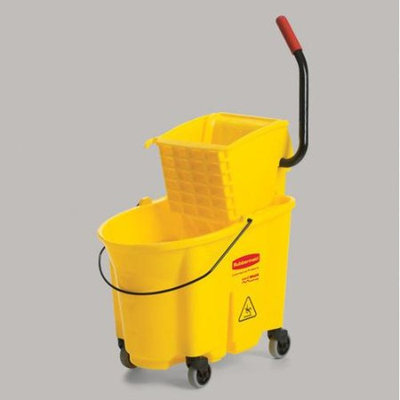Rubbermaid Commercial Products WaveBrake Side Press Combo - 35 qt.