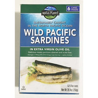Wild Planet Wild Pacific Sardines in Extra Virgin Olive Oil 4.375oz (Pack of 24)