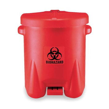 Eagle Manufacturing Company X 18 X 21 Red 14 Gallon Biohazard Waste Cans