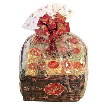 Enjoy Snacks Lg Hawaiian Holiday Christmas Basket