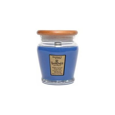 Hanna's Candle Company 00102308 9. 25oz Night Musk TimberWick