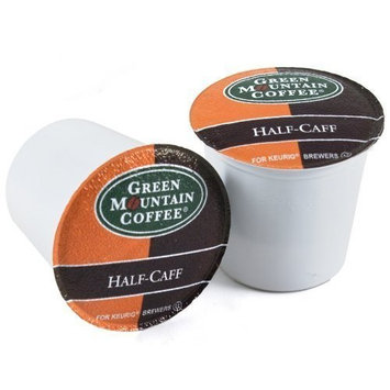 Green Mountain Half-Caff Coffee For Keurig K-Cup Brewing System, 18 Count