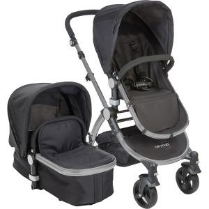 Baby Roues Canvas Collection Frosted Frame Baby le Tour II In Black