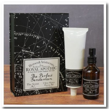 Heroes & Aristocrats by Royal Apothic Perfect Gentleman Kit, The Scent No. 1, 4 Oz
