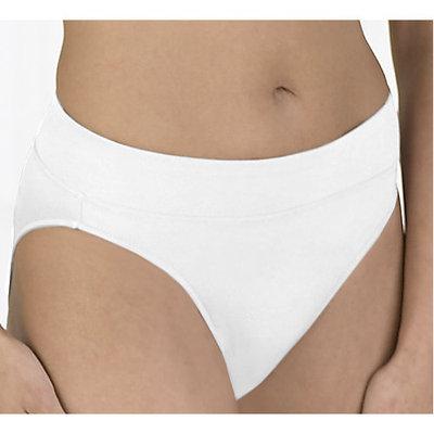 Warner's No Pinching, No Problems Hi-Cut Panties White XL