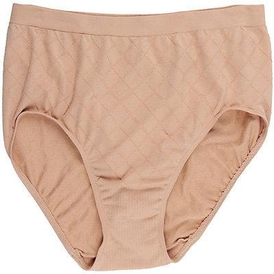 Bali Comfort Revolution Diamond Brief Panties-8/9,NUDE BEIGE