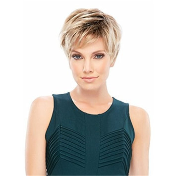 Women Wigs Ombre Blonde Short Straight Natural Heat Resistant Synthetic Hair Wigs 10 Inch