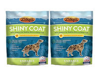 Zukes Zuke's Enhance Shiny Coat Functional Chew for Dogs, Chicken & Chickpea - 5oz (2 Pack)