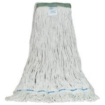 Appeal 881742 Appeal Wet Mop Loop 24Oz Rayon Finish White