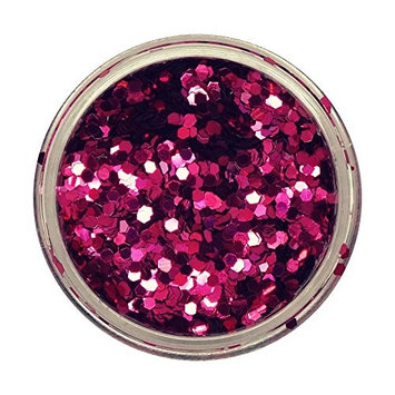 Hot Pink Gem Powder Glitter #13 From From Royal Care Cosmetics