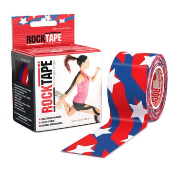 RockTape 2 Pattern Active Recovery Kinesiology Tape - Stars and Stripes