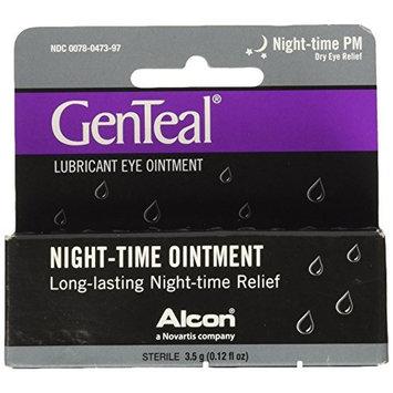 6 Pack - GenTeal Night-Time Lubricant Eye Ointment 3.50 G (0.12 fl oz) Each