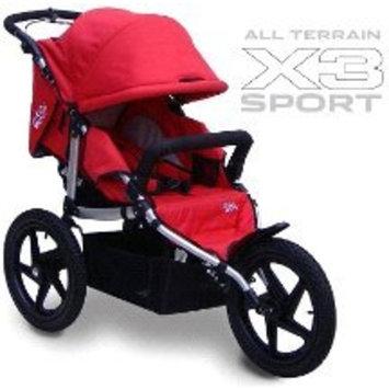 Tike Tech X3 Sport All Terrain Stroller - Alpine Red []