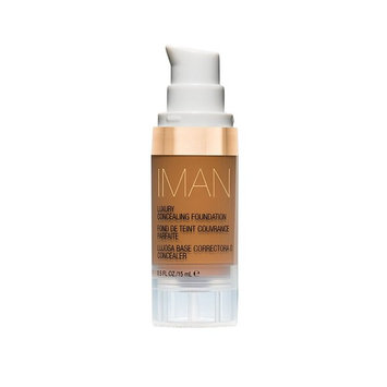 IMAN Cosmetics Concealing Foundation, Dark Skin, Earth 1