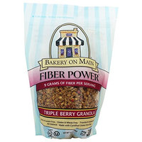 Bakery On Main - Fiber Power Granola Gluten Free Triple Berry - 12 oz (pack of 2)