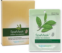 Spa Room Green Tea Spa Mask-1 Each